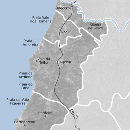 Map Of Aljezur Faro Homes For Sale Idealista