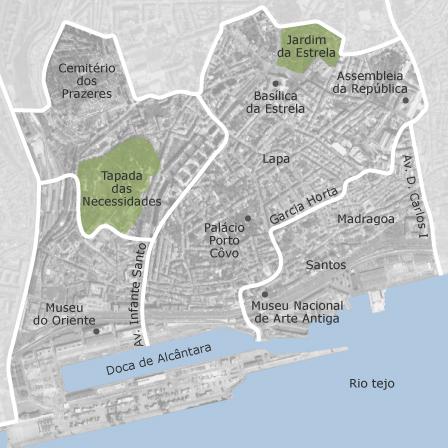 estrela lisboa mapa Mapa de Estrela, Lisboa: casas à venda — idealista estrela lisboa mapa