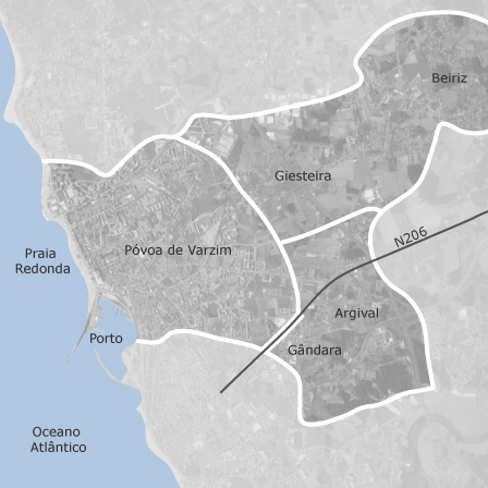 Mapa De Povoa De Varzim Beiriz Argivai Porto Casas A Venda