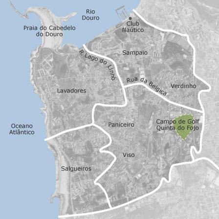 Mapa De Canidelo Porto Casas A Venda Idealista