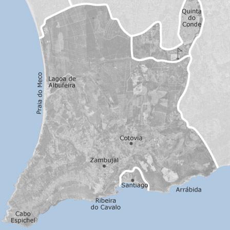 mapa sesimbra Mapa de Sesimbra, Setúbal: casas à venda — idealista mapa sesimbra